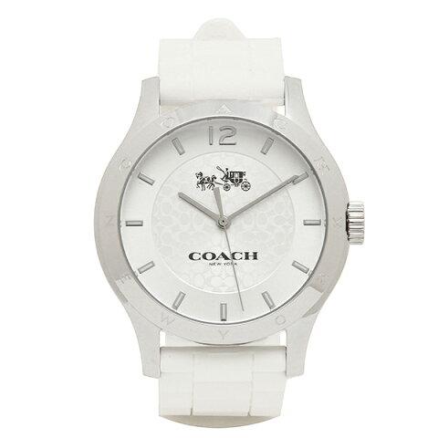 9e2ac93c636c 【4時間限定ポイント10倍】コーチ 腕時計 レディース アウトレット COACH W6033 WHT シルバー ホワイト