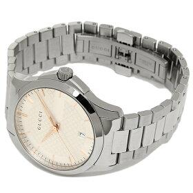 グッチ時計メンズ/レディースGUCCIYA126442Gタイムレス腕時計ウォッチシルバー