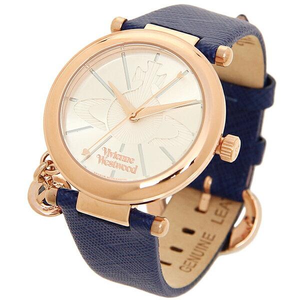 ヴィヴィアンウエストウッド時計VIVIENNEWESTWOODVV006RSBLORBPOPオーブ腕時計ウォッチブルー/ゴールド/シルバー