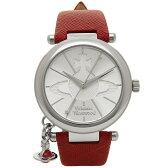 ヴィヴィアン ウエストウッド 腕時計 VIVIENNE WESTWOOD VV006SSRD レッド シルバー
