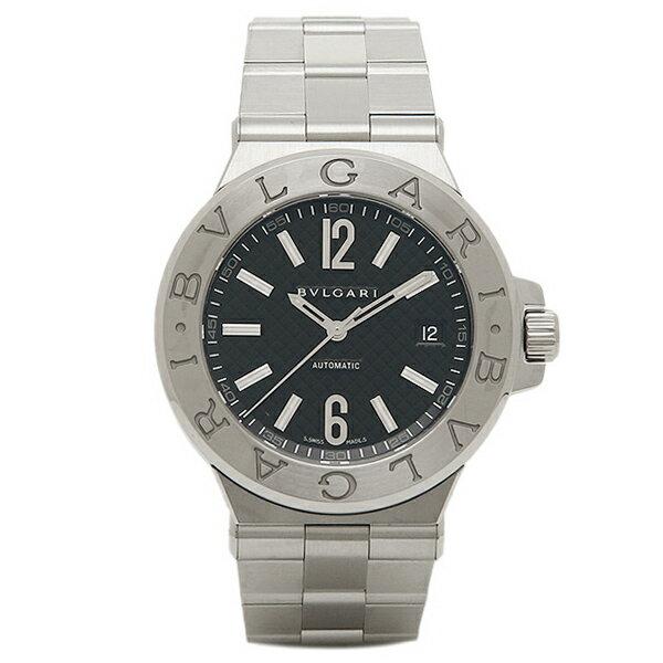 BVLGARI ブルガリ ディアゴノ クラシック オートマチック ブラック メンズ DG40BSSD ウォッチ 腕時計 シリアル有:ブランドショップ AXES