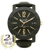 ブルガリ 時計 メンズ BVLGARI BBP40BCGLD ブルガリ ブルガリ 腕時計 ウォッチ ブラック