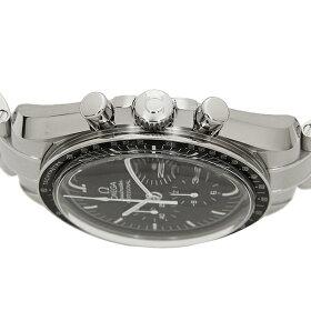 オメガ時計メンズOMEGA311.30.42.30.01.005SPEEDMASTERスピードマスタームーンウォッチ手巻き腕時計シルバー/ブラック