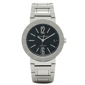 ブルガリ BVLGARI 時計 腕時計 メンズ ブルガリ 時計 BVLGARI 腕時計 メンズブルガリ ブラック SSブレス AUTO BB38BSSD シリアル有