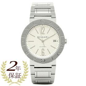 ブルガリBVLGARI時計腕時計メンズBVLGARIブルガリブルガリSSブレスホワイトメンズAUTOBB38WSSD/Nウォッチ腕時計シリアル有