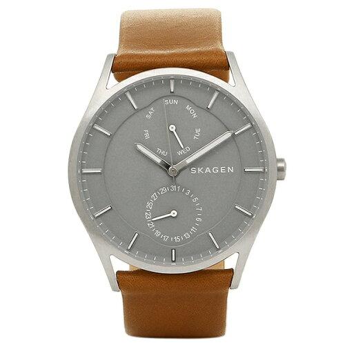 スカーゲン 時計 SKAGEN SKW6264 HOLST ホルスト メンズ腕時計 ウォッチ ブラウン/シルバー