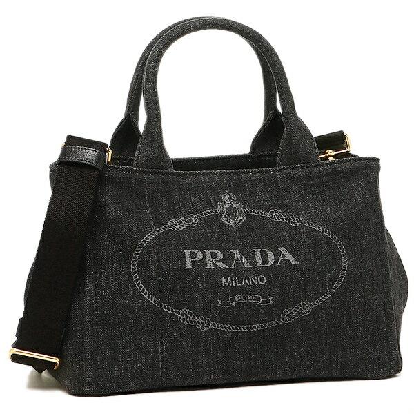 PRADA プラダ バッグ レディース 1BG439 AJ6 F0002 CANAPA カナパ トートバッグ NERO