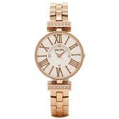フォリフォリ 時計 FOLLI FOLLIE WF15B028BSW XX MINI DYNASTY WINTER DREAM レディース腕時計ウォッチ ホワイト/ローズゴールド