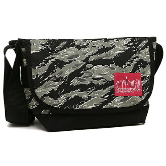 manhattampotejishorudabakku MANHATTAN PORTAGE MP1605JRTSC TIGER CAMO TIGER STRIPE CASUAL MESSENGER挎包