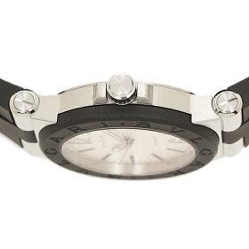 ブルガリ時計BVLGARIDG35C6SVDディアゴノ自動巻きメンズ腕時計ウォッチシルバー/ブラック