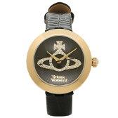 ヴィヴィアンウエストウッド 時計 VIVIENNE WESTWOOD VV150GDBK クイーンズゲート レディース腕時計ウォッチ ブラック/ゴールド