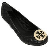 トリーバーチ シューズ TORY BURCH 50008681 051 QUINN シューズ・靴 BLACK (GOLD METALLOGO)