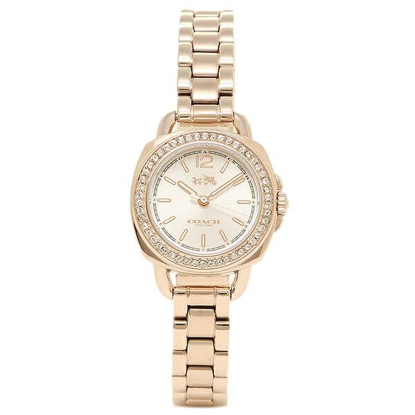 コーチ 時計 COACH 14502575 TATUM テイタム レディース腕時計ウォッチ シルバ−/ピンクゴ−ルド