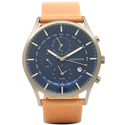 スカーゲン 時計 SKAGEN SKW6285 HOLST ホルスト メンズ腕時計 ウォッチ ブラウン/ブルー