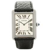 カルティエ 時計 CARTIER W5200003 カルティエ タンク ソロ SS LM メンズ腕時計 ウォッチ ホワイト/シルバー/ブラック
