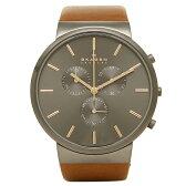 スカーゲン 時計 SKAGEN SKW6106 ANCHER アンカー メンズ腕時計 ウォッチ ブラック/シルバー/ブラウン