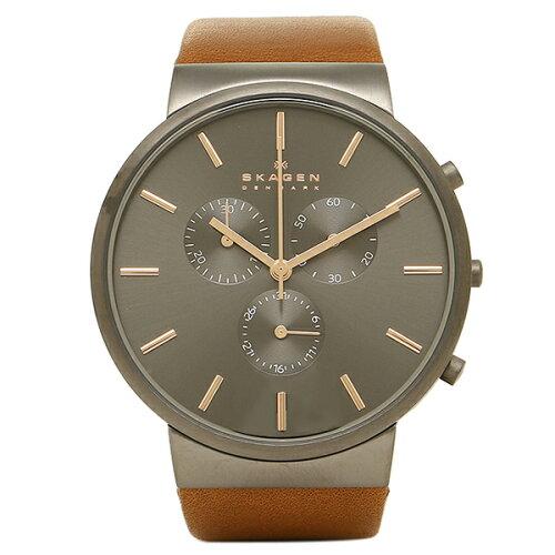 スカーゲン 時計 SKAGEN SKW6106 ANCHER アンカー メンズ腕時計 ウォッチ ブラック/シルバー/ブラ...