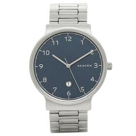 スカーゲン時計SKAGENSKW6295ANCHERメンズ腕時計ウォッチシルバー/ブル−