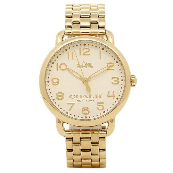 コーチ 時計 COACH 14502261 DELANCEY デランシー レディース腕時計ウォッチ アイボリー/イエローゴールド