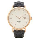 ケイトスペード 腕時計 KATE SPADE KSW1160 ネイビー ローズゴールド ホワイト