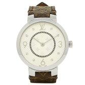 ルイヴィトン 腕時計 LOUIS VUITTON Q13MJB モノグラム シルバー