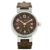 ルイヴィトン 腕時計 LOUIS VUITTON Q1211A ブラウン