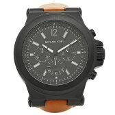 マイケルコース 腕時計 MICHAEL KORS MK8512 ブラック ブラウン