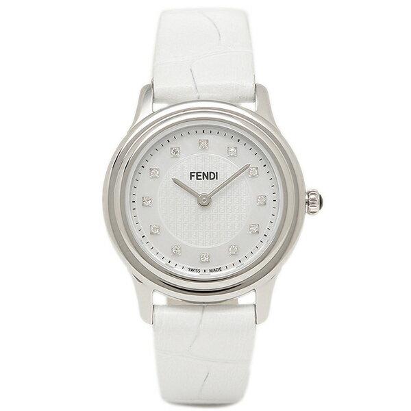 フェンディ 腕時計 レディース FENDI F250024541D1 ホワイトパール