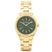 フルラ FURLA 腕時計 R4253101502 イエローゴールド/グリーン