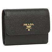 プラダ 折り財布 PRADA 1MH840 QWA F0002 ブラック