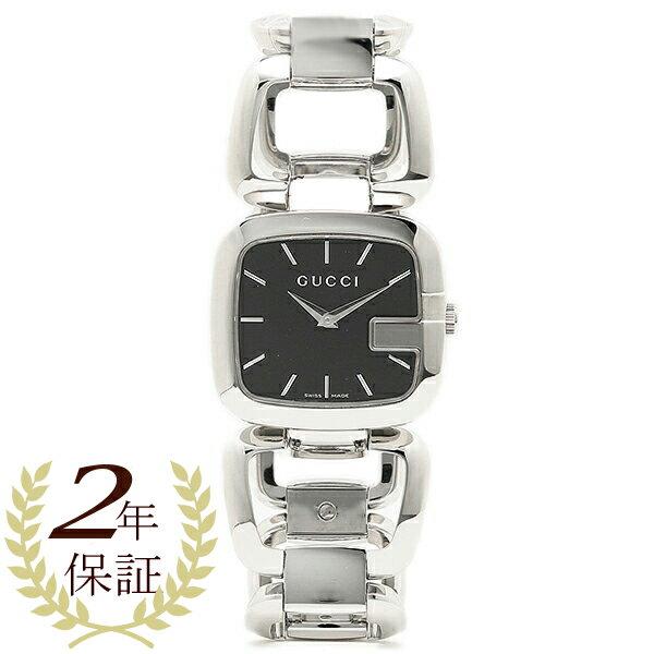 48728c2f931 Gucci GUCCI clock Lady s watch Gucci watch GUCCI YA125407 silver black