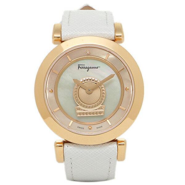 フェラガモ 腕時計 Salvatore Ferragamo FQ4270015 ホワイト ゴールド:ブランドショップ AXES
