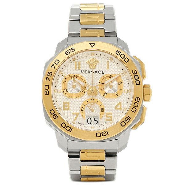 ヴェルサーチ 腕時計 VERSACE VQC030015 シルバー ゴールド:ブランドショップ AXES