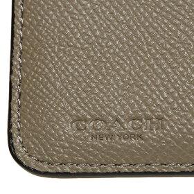 コーチCOACH折財布アウトレットF57825IMLLFブラックホワイトベージュ
