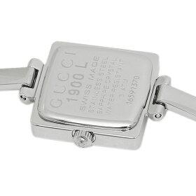 グッチ時計GUCCI1900ステンレスピンクパールレディースウォッチ