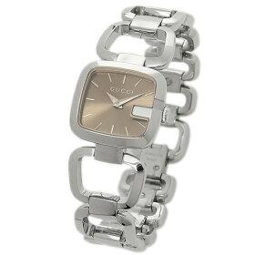 GUCCIグッチG-COLLECTIONGコレクションブロンズ/シルバー腕時計レディースウォッチ