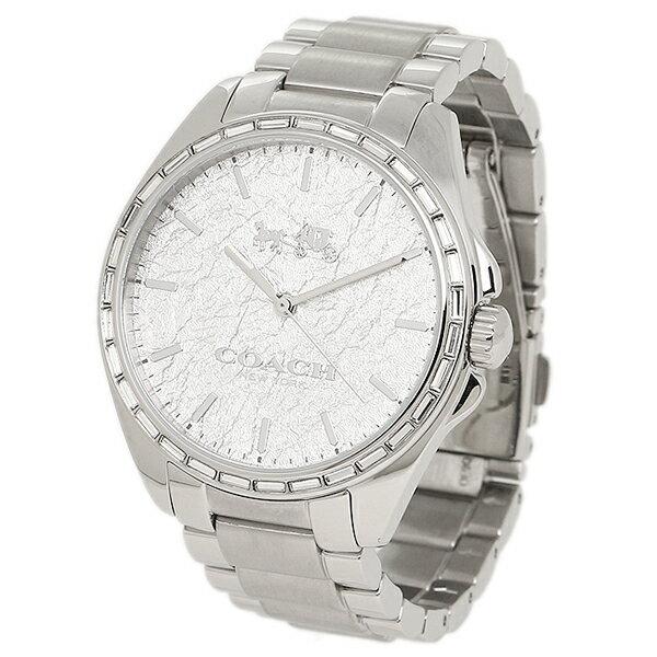 Brand Shop AXES: Coach watch COACH W1504 SLV silver ...
