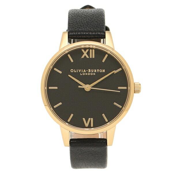【6時間限定ポイント5倍】OLIVIA BURTON 腕時計 オリビアバートン OB15MD51 ブラック/ゴールド