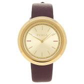 フルラ FURLA 腕時計 R4251103510 866672 イエローゴールド/バーガンディーレッド