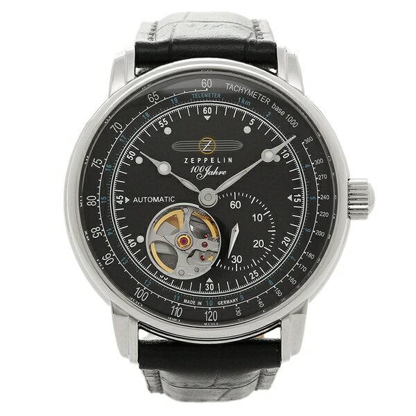 ZEPPELIN 腕時計 ツェッペリン 76622N ブラック シルバー:ブランドショップ AXES