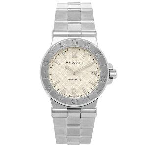 BVLGARI 腕時計 メンズ ブルガリ DG35C6SSD ホワイト シルバー
