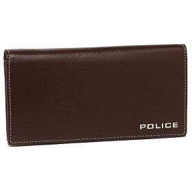 ポリスメンズ長財布POLICEPLC132ブラウン