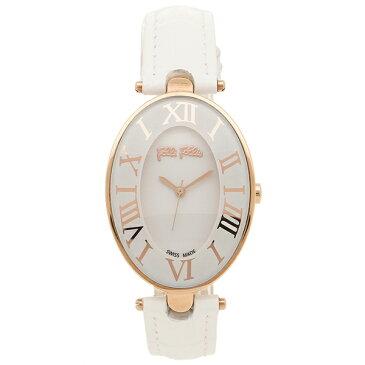 【4時間限定ポイント10倍】【返品OK】FOLLI FOLLIE レディース 腕時計 フォリフォリ WF14R025SPS-WH ホワイト ローズゴールド
