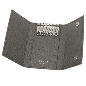 プラダレディースキーケースPRADA1PG222QHHF0K44グレー