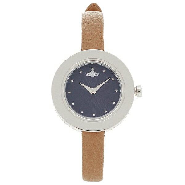 ヴィヴィアンウエストウッド 腕時計 レディース VIVIENNE WESTWOOD VV097NVTN ブルー ブラウン シルバー