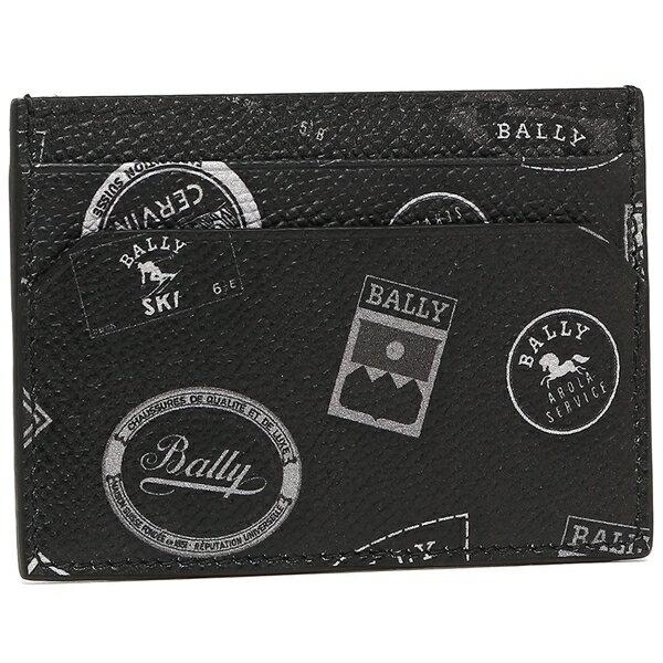 086da329236b バリー カードケース FURLA フルラ メンズ CELINE セリーヌ BALLY 6218348 ブラック:1 GUCCI グッチ&one