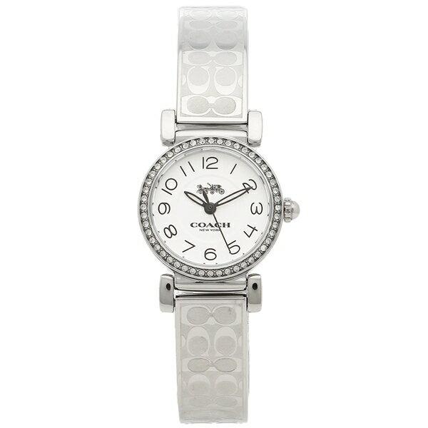【38時間限定ポイント5倍】コーチ 腕時計 レディース COACH 14502870 ホワイト シルバー