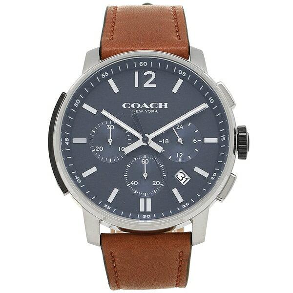 COACH コーチ 腕時計 メンズ 14602015 ブラウン シルバー ブルー