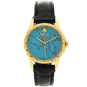 [عودة] OK Gucci Watch Ladies GUCCI YA126560 أزرق أصفر ذهبي أسود