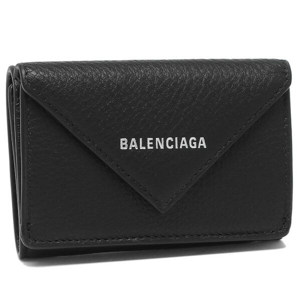 バレンシアガ財布折財布レディースBALENCIAGA391446DLQ0N1000ブラック【返品OK】